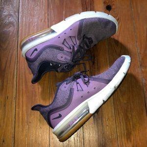 Nike Lavendar AirMax running Shoe